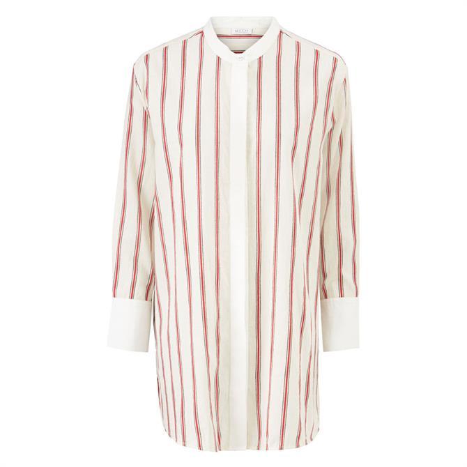 Masai Iris Oversized Striped Shirt
