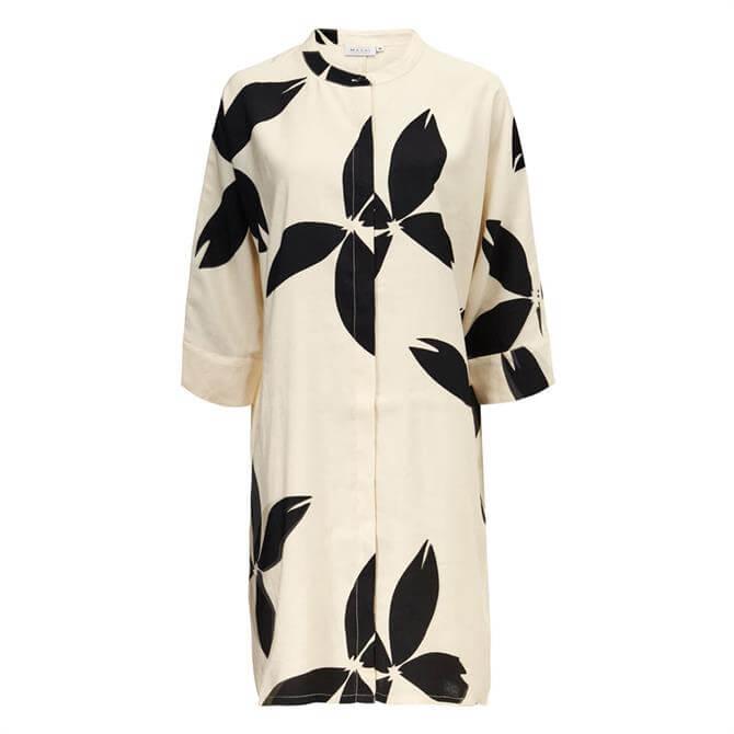 Masai Iosetta Floral Print Shirt Dress