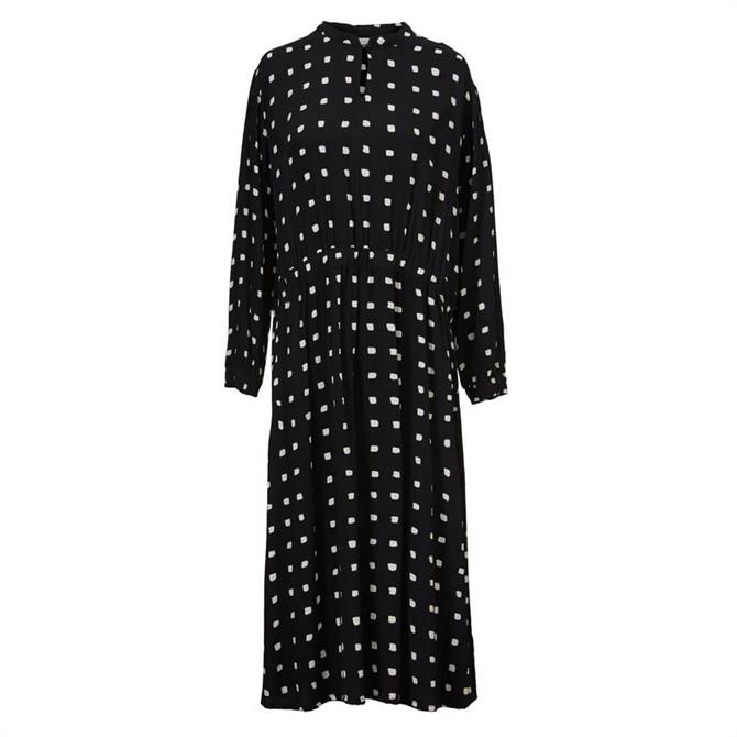 Masai Nissa Irregular Dot Midi Dress