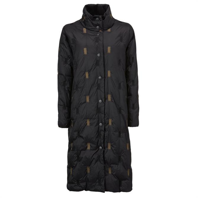 Masai Tronja Embroidered Quilted Coat