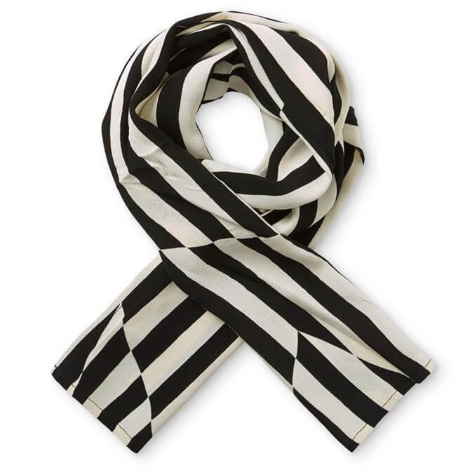 Masai Monochrome Stripe Scarf