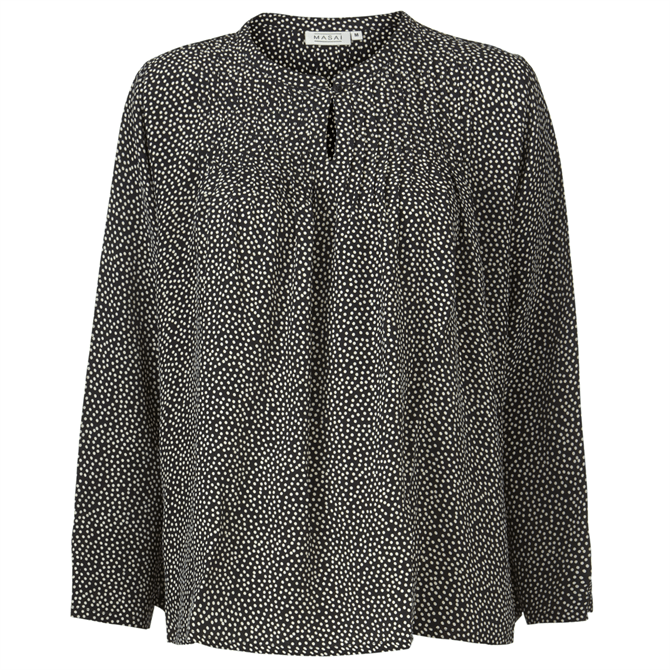 Masai Barus Spotted Loose Fit Blouse