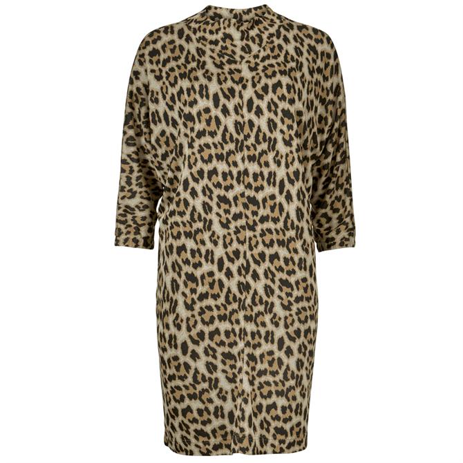 Masai Glussi Leopard Print Tunic Top