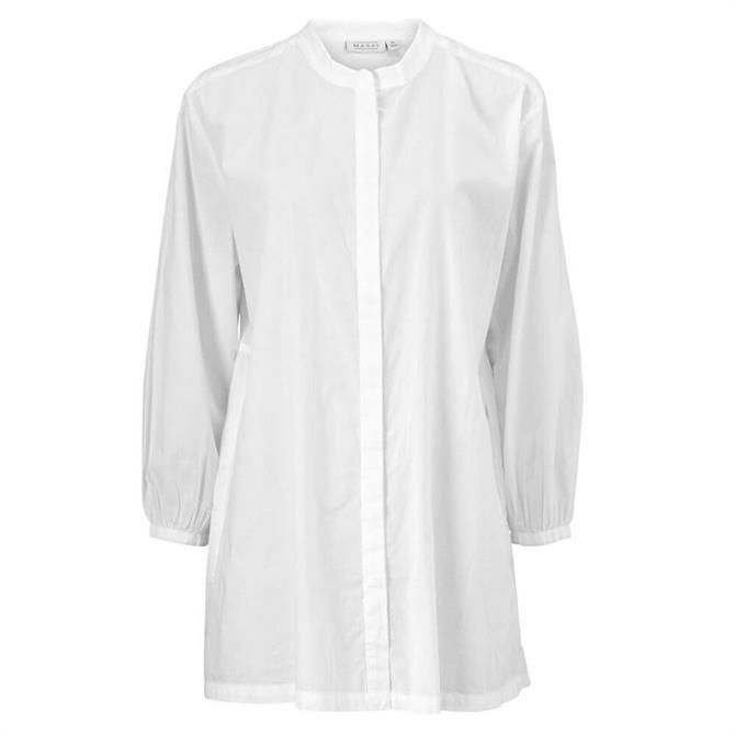 Masai Iana A-Line White Cotton Shirt