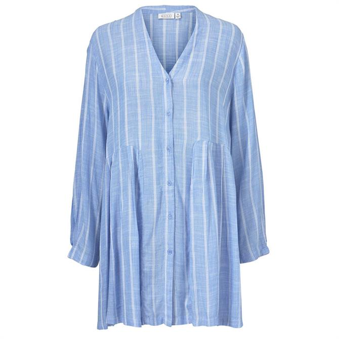 Masai Ibene Stripy Loose Fit Shirt