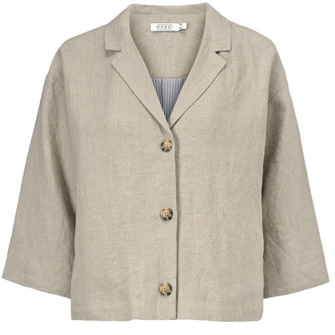 Masai Jade Short Linen Jacket