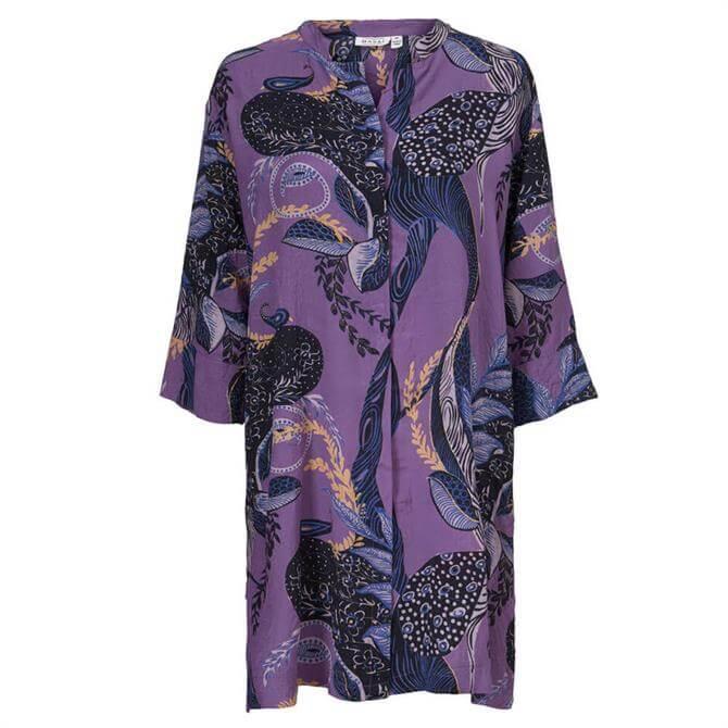 Masai Nimes Paisley Print Shirt Dress