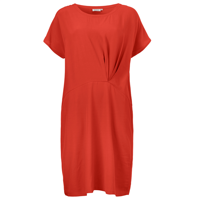 Masai Omia Short Sleeve Viscose Loose Fit Dress