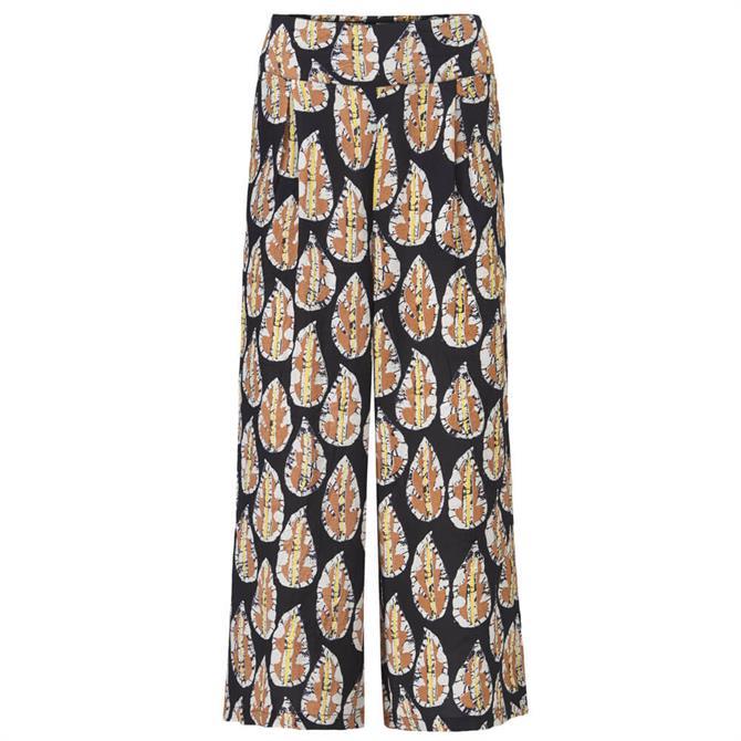 Masai Pusna Batik Effect Print Culotte Trousers
