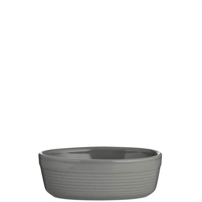 Mason Cash Grey 17cm Oval Dish