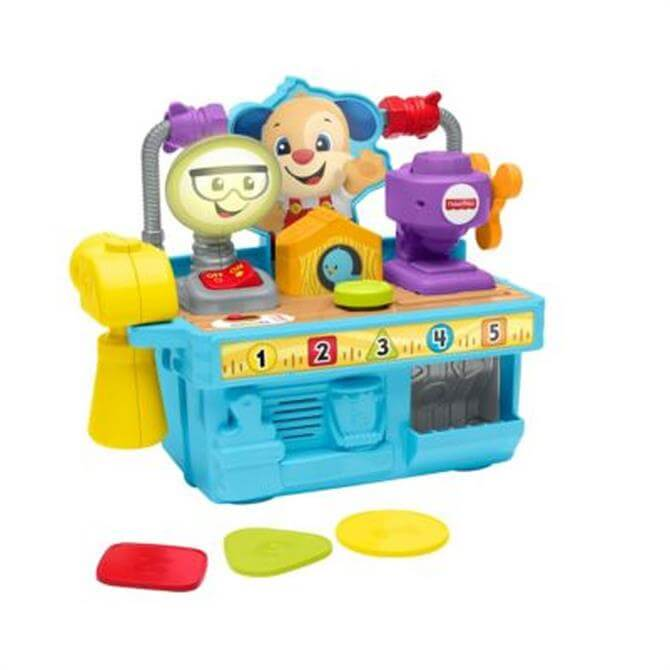Fisher Price Busy Learning Tool Bench Set