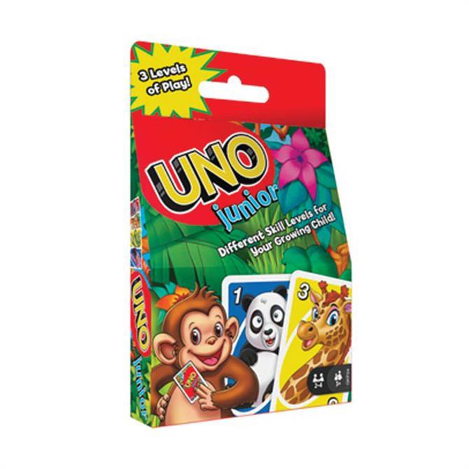 Mattel Games Uno Junior Card Game