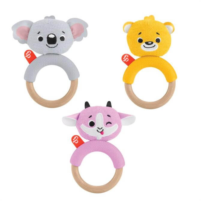Fisher-Price Knit Animal Teether
