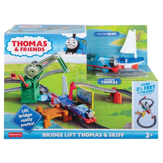 Thomas & Friends Bridge Lift Thomas & Skiff Playset