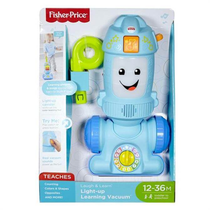 Fisher Price Laugh & Learn Light Up Learning Vacuum