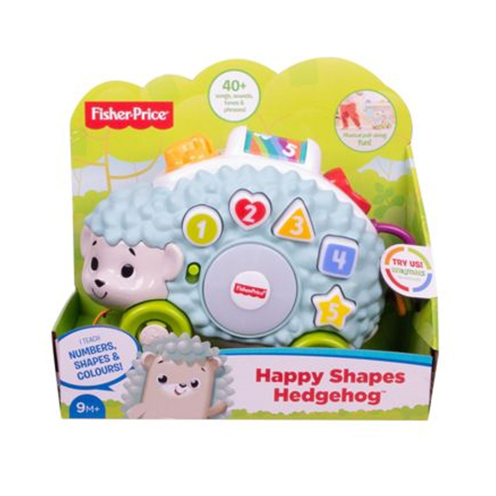 An image of Fisher Price Linkimals Happy Shapes Hedgehog