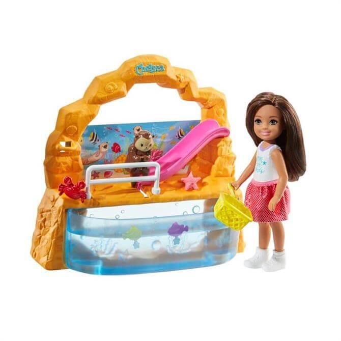 Mattel Barbie Chelsea Aquarium Doll And Playset