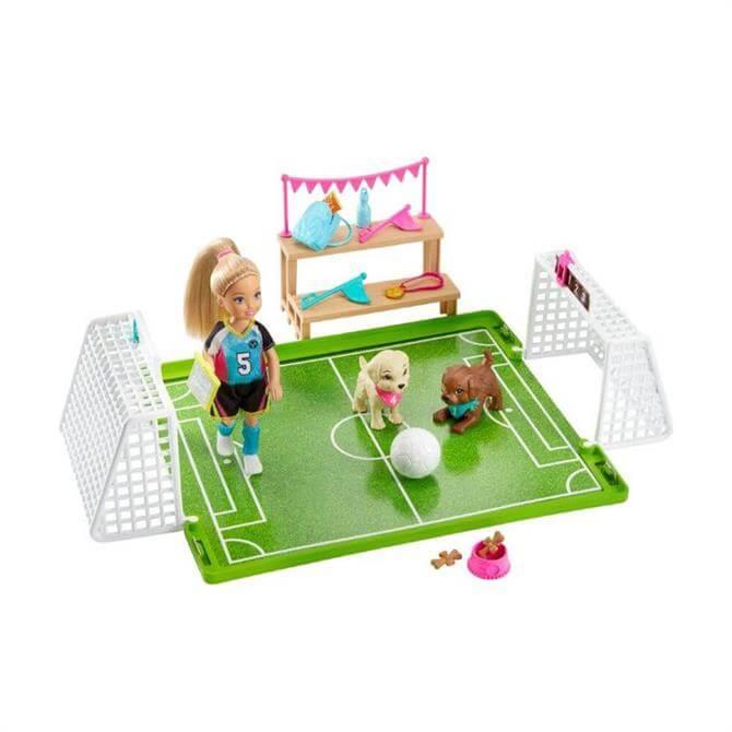 Mattel Barbie Chelsea Football Playset