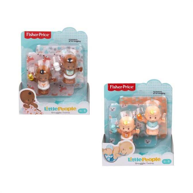 Mattel Little People Twin Babies Asst