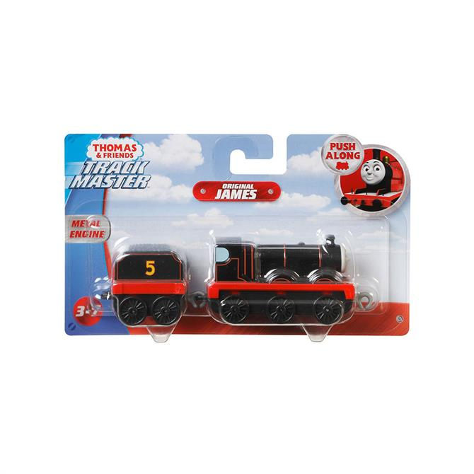 Thomas And Friends James Orginal Large Engine Push Along