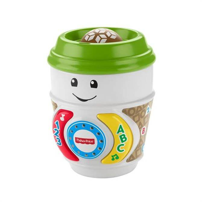 Fisher Price Laugh & Learn On The Glow Coffee Cup