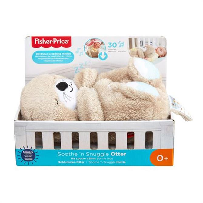 Fisher Price Soothe 'n Snuggle Otter Plush Toy