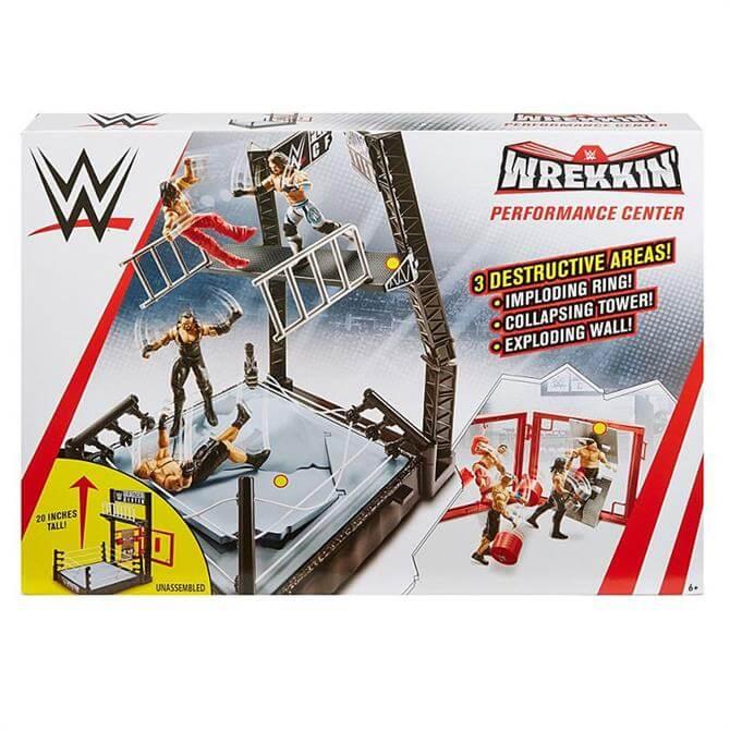 WWE Wrecking Performance Centre Playset