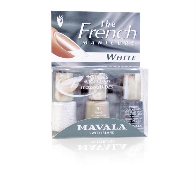 Mavala Natural French Manicure Kit