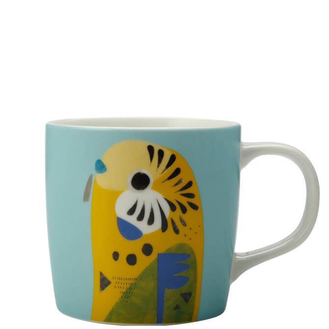 Maxwell & Williams Pete Cromer Budgerigar Mug