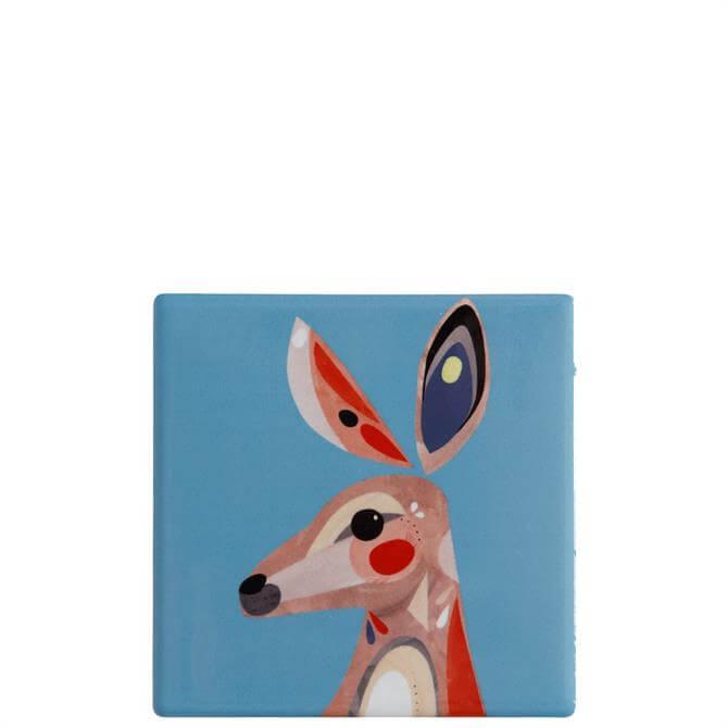 Maxwell & Williams Pete Cromer Kangaroo Square Coaster