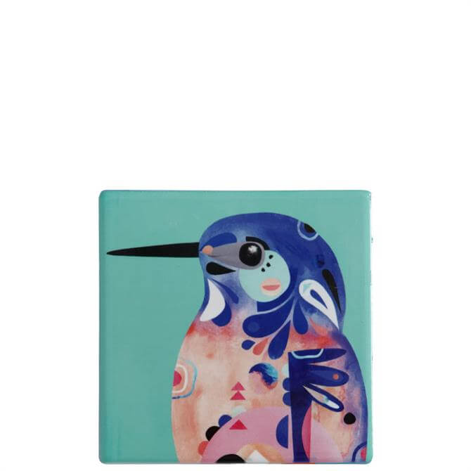Maxwell & Williams Pete Cromer Kingfisher Square Coaster