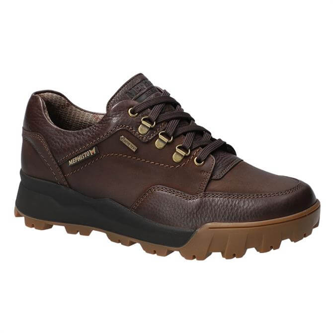 Mephisto Wesley Gore-Tex Brown Leather Shoes