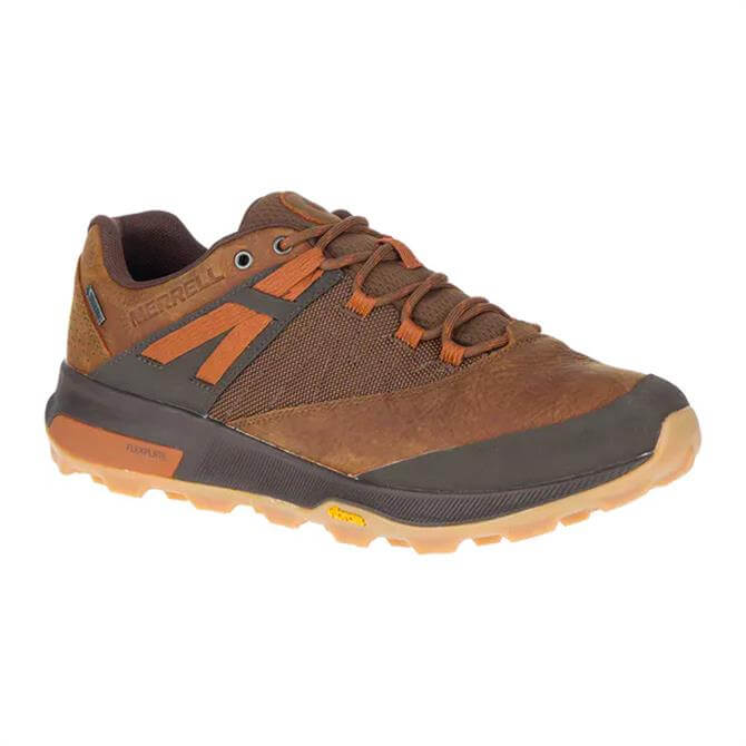 Merrell Zion Brown Gore-Tex Walking Trainers