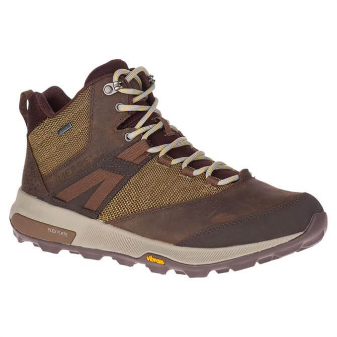 Merrell Zion Mid Brown Gore-Tex Boots