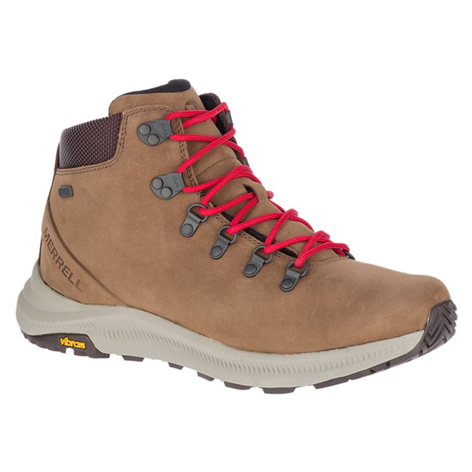 Merrell Ontario Mid Waterproof Boots in Dark Earth