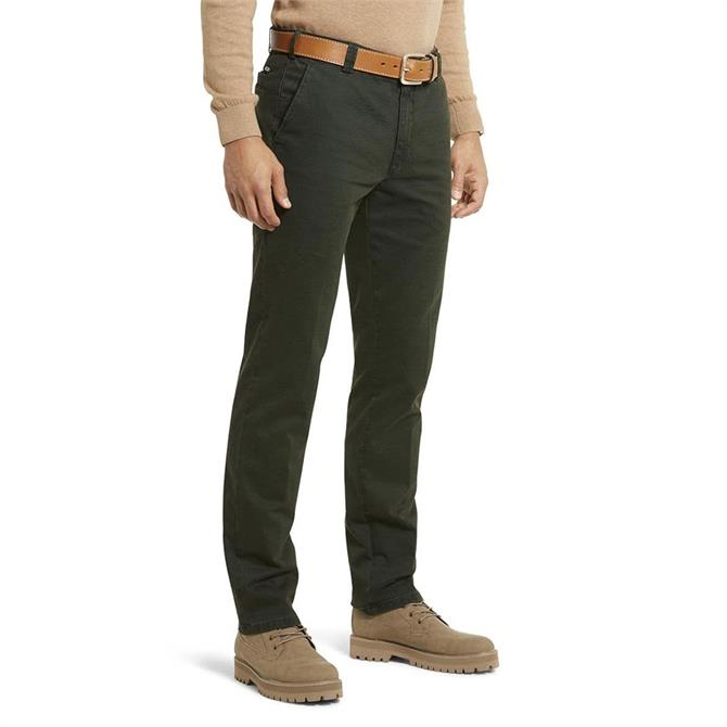 Meyer New York Super Stretch Double Dye Cotton Chinos