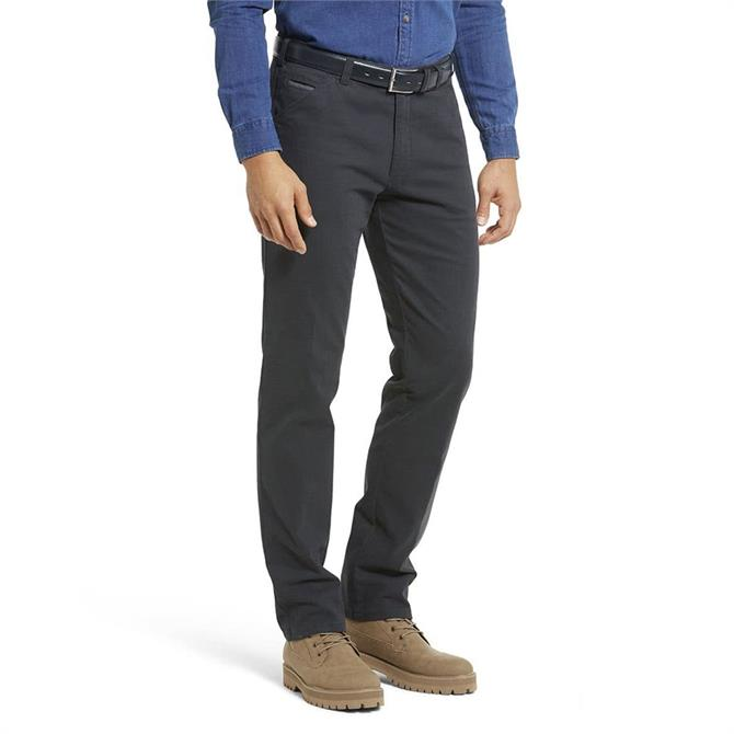 Meyer Chicago Two Tone Micro Deisgn Cotton Chino Trousers