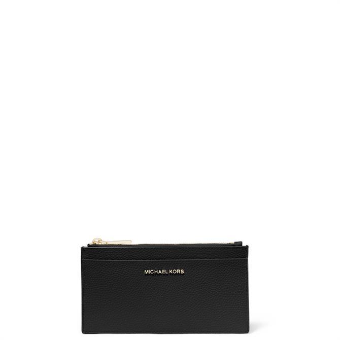 Michael Michael Kors Large Pebbled Leather Card Case