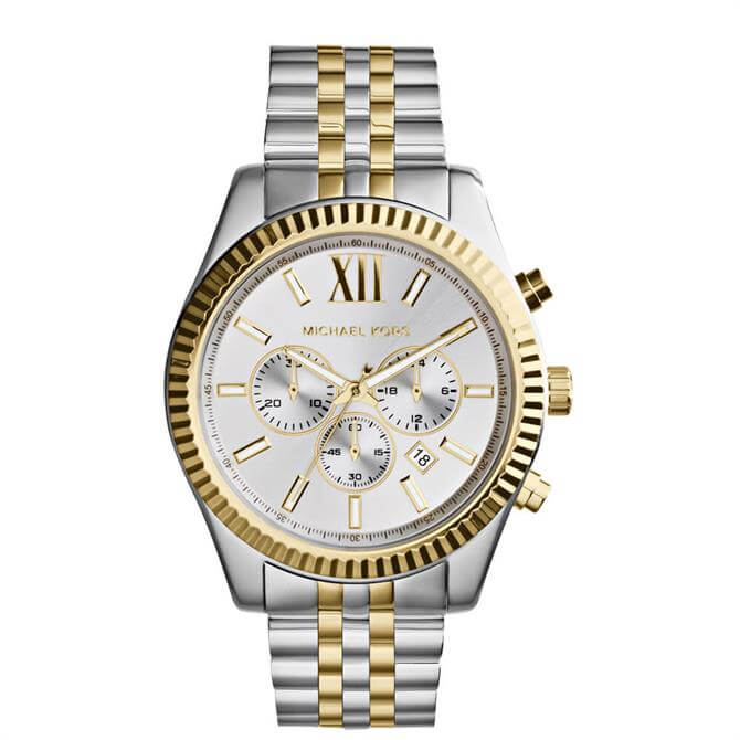 Michael Kors Men's Two-Tone Lexington Watch