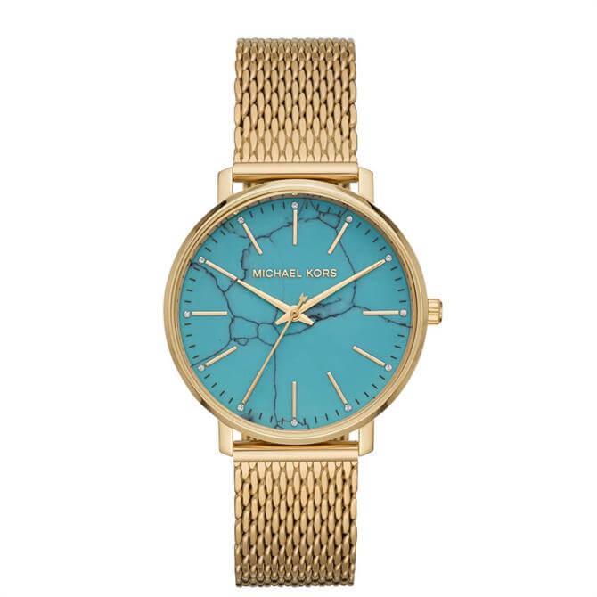 Michael Kors Women's Pyper Gold Tone Stainless Steel Watch