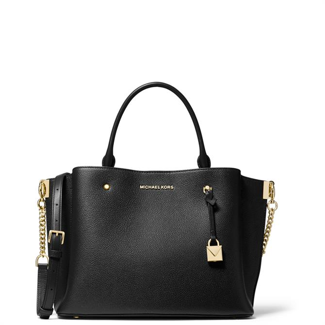 Michael Michael Kors Arielle Large Pebbled Leather Satchel