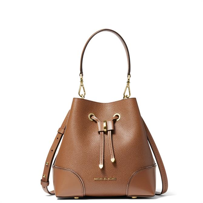 Michael Michael Kors Mercer Gallery Small Pebbled Leather Shoulder Bag