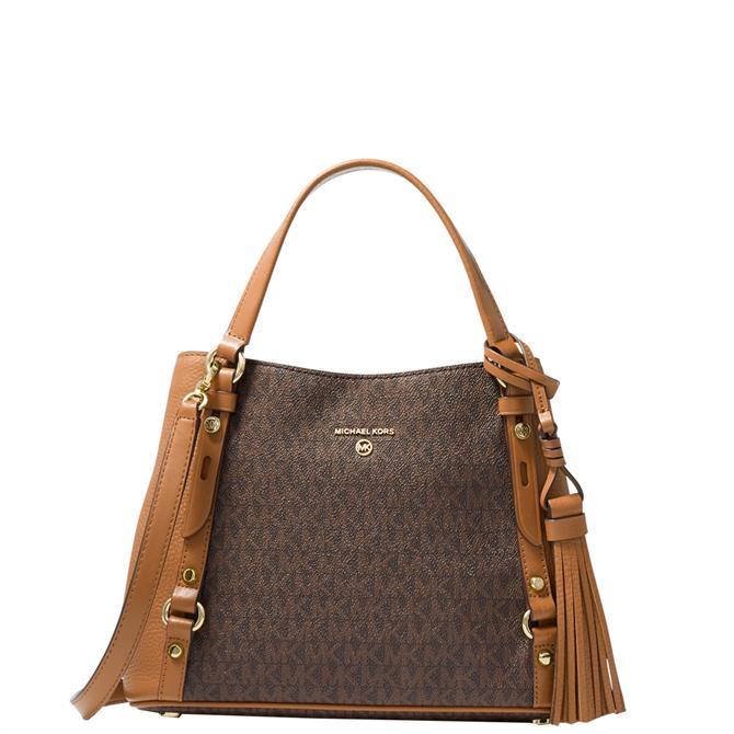 Michael Michael Kors Carrie Medium Logo Shoulder Bag