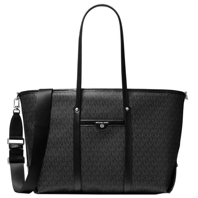Michael Michael Kors Beck Large Logo Black Tote Bag