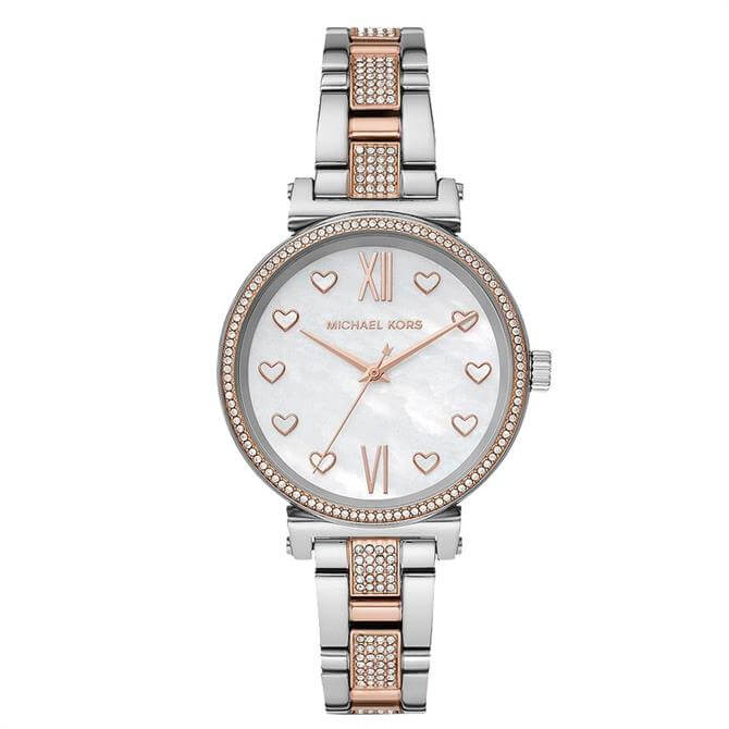 Michael Kors Sofia Two-Tone Ladies Watch