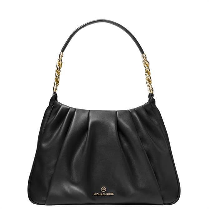 Michael Michael Kors Hannah Medium Pleated Shoulder Bag