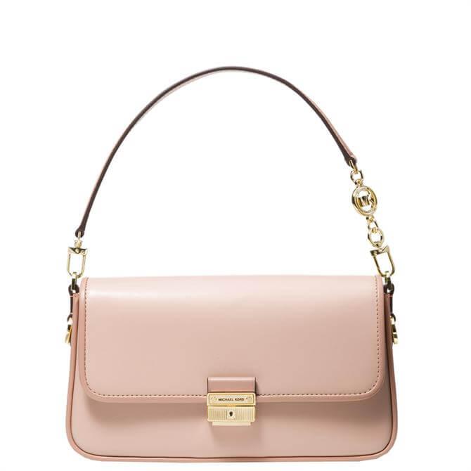 Michael Michael Kors Bradshaw Soft Pink Small Leather Shoulder Bag