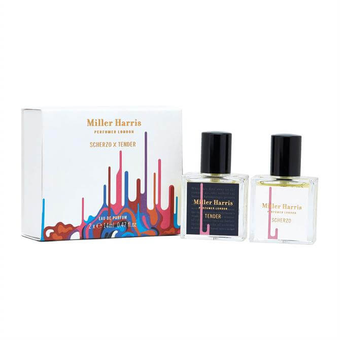 Miller Harris Scherzo & Tender Eau de Parfum 14ml Duo Set