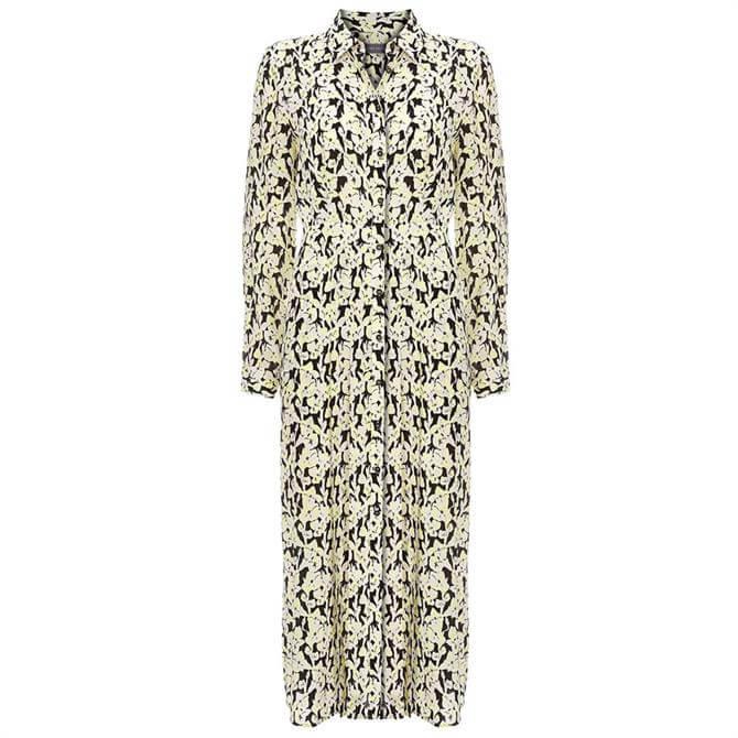 Mint Velvet Beth Floral Midi Shirt Dress