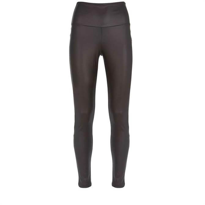 Mint Velvet Black Faux Leather Legging